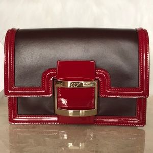 ROGER VIVIER PARIS leather 100%  authentic